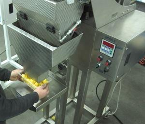 Linear weigher for pasta