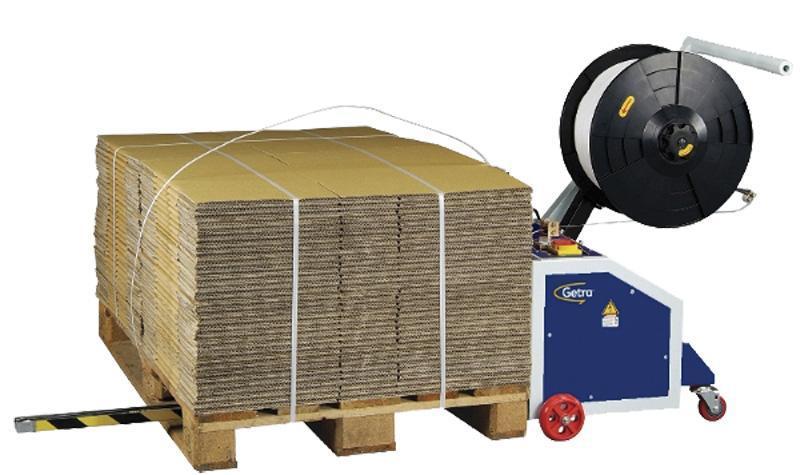 Poluautomatski stroj za omatanje paketa PP trakom