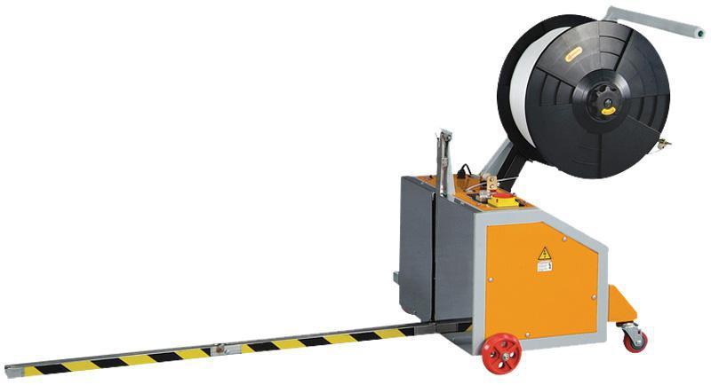 Poluautomatski stroj za omatanje paketa PP trakom TP202MV
