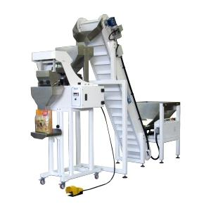 Semiautomatic linear weigher