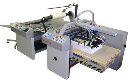 Stroj za plastifikaciju u tiskarskoj industriji Sagitta