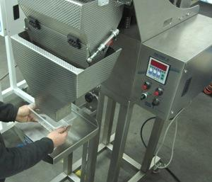 Weigher for pasta